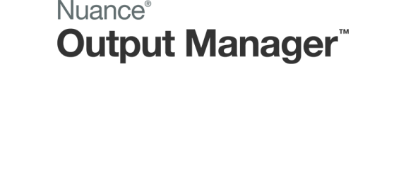 output manager logo